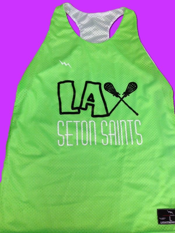 seton saints pinnies