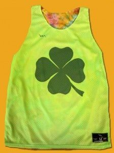 Shamrock Racerback Pinnies