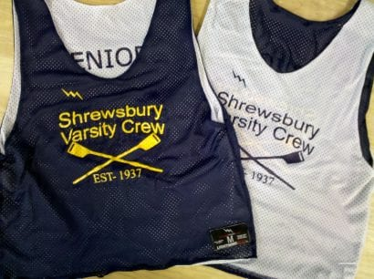 shrewsbury crew pinnies