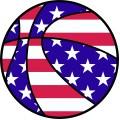 American Flag Bball
