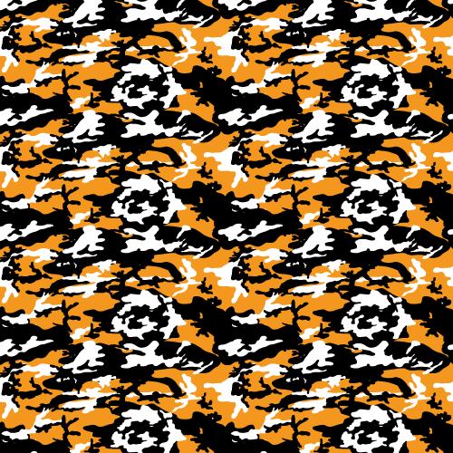 Orange+Black+Camouflage