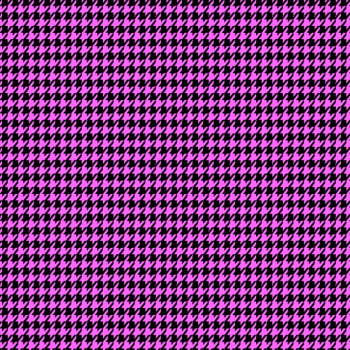 Pink+Houndstooth