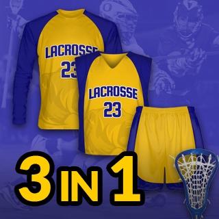 3 in 1 Lacrosse Pack