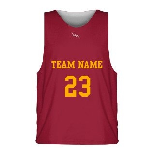 Solid Reversible Jerseys Basketball Design 1