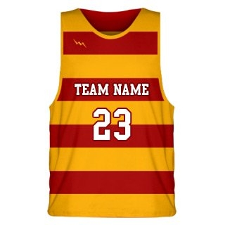Horizontal Stripe Basketball Jersey Design Seven