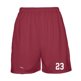 Solid Basketball Short Design 1