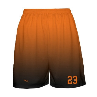Ombre Fade Basketball Short Design 3
