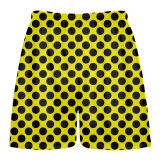 Polka Dot Lacrosse Shorts
