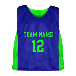Mens Lacrosse Pinnie with Side Panel