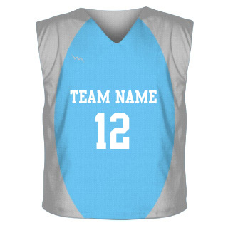 Collegiate Cut Sublimated Reversible Jersey Design 6