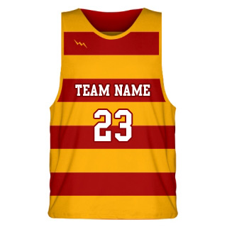 Sublimated Striped Basketball Jersey