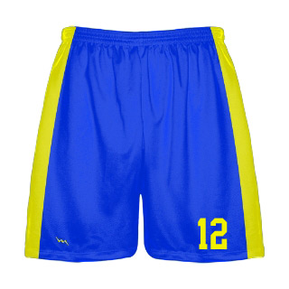 Sublimated Lacrosse Shorts with Side Panels