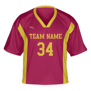 Lacrosse Jersey With Side Panel and Collar