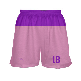 Womens Sublimated Lacrosse Shorts With Top Panel