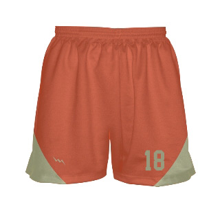 Womens Sublimated Lacrosse Shorts With Side Panel