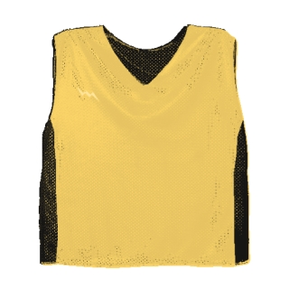 Youth Collegiate Cut Lacrosse Pinnie with Side Panel