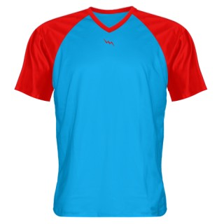 V-Neck Sublimated Shooting Shirts - Design 02