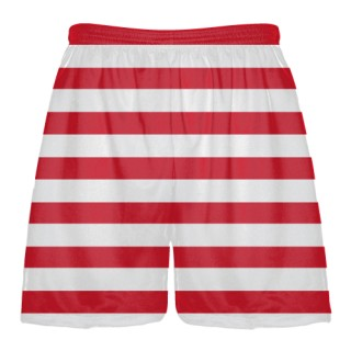 Horizontal Stripe Lacrosse Short