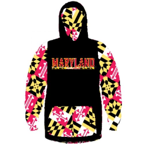 Maryland+Terps+Hooded+Sweatshirt