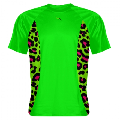 Neon+Green+Shooting+Shirts+Cheetah+Sides+Green