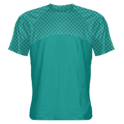 Sea+Blue+-+Teal+Lacrosse+Shooting+Shirts