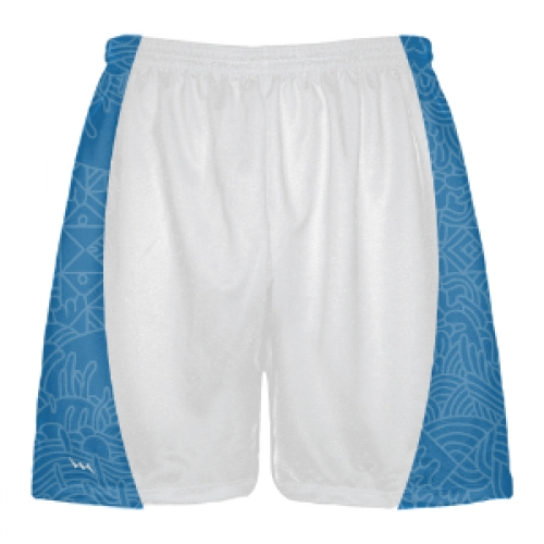 North+Carolina+Lacrosse+Shorts+-+Blue+Shorts
