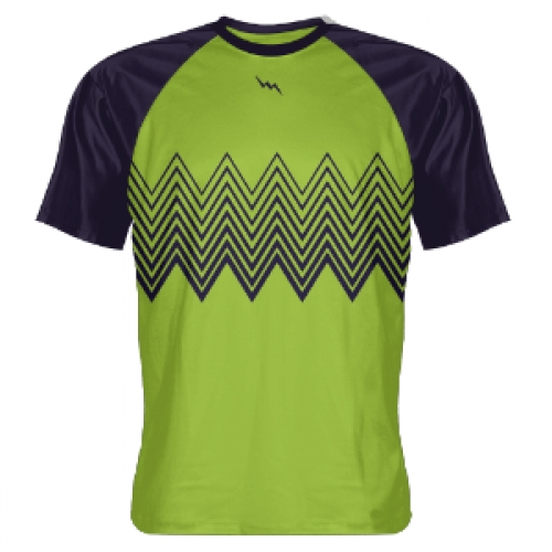 Green+Navy+Zig+Zag+Shooting+Shirts