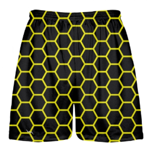 Honeycomb+Lacrosse+Shorts