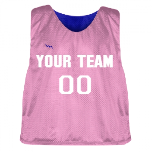 Pink+and+Royal+Blue+Lacrosse+Pinnie