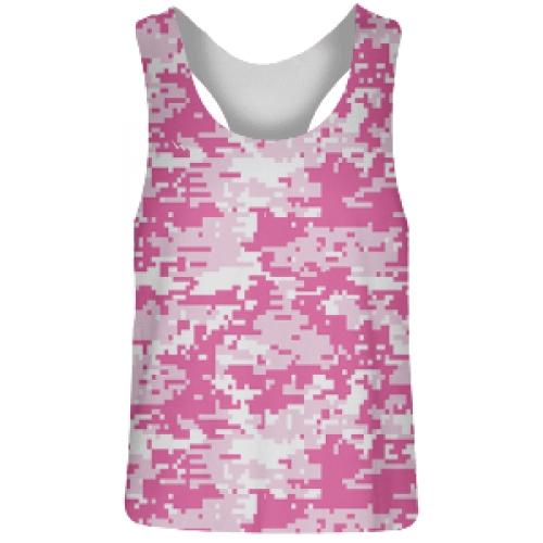 Pink+Digital+Camouflage+Racerback+Pinnies