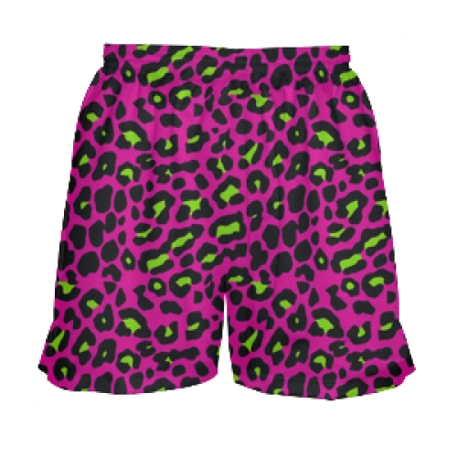 Pink+Cheetah+Print+Girls+Lacrosse+Shorts