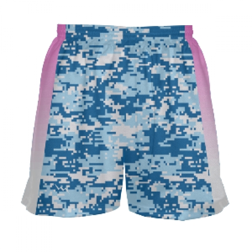 Girls+Blue+Digital+Camo+Pink+Side+Lacrosse+Shorts