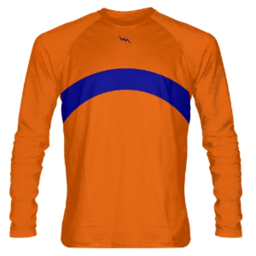 Orange+Long+Sleeve+Shooter+Shirts