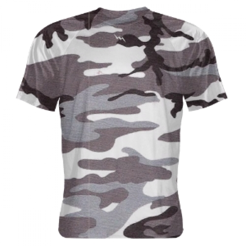 Gray+Camouflage+Shooter+Shirts