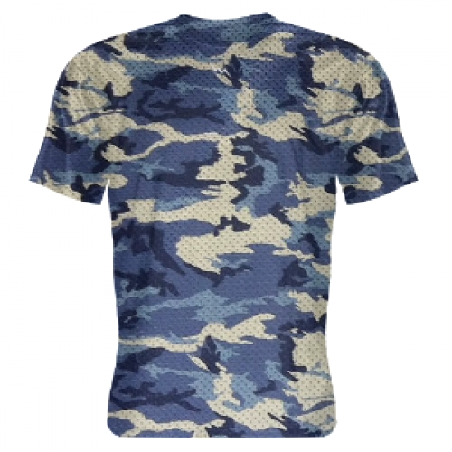 Blue+Camouflage+Shooter+Shirts
