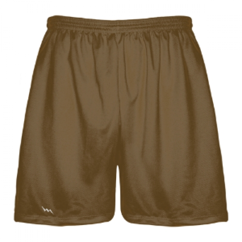 Brown+Lacrosse+Shorts