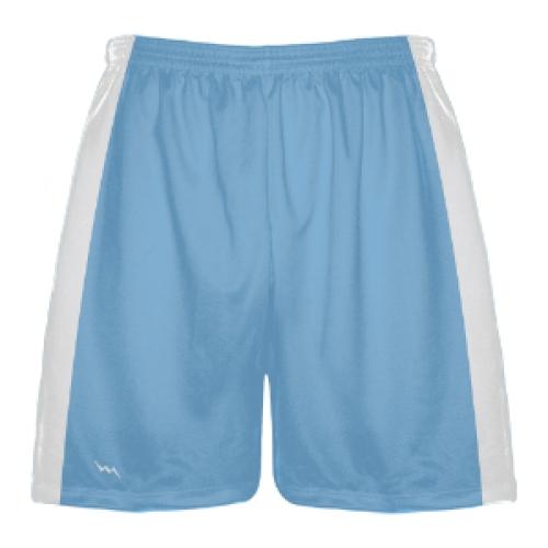 Light+Blue+and+White+Lacrosse+Shorts