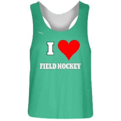 Teal+Field+Hockey+Jersey+Reversible