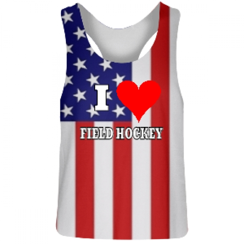 American+Flag+Field+Hockey+Reversible+Jerseys
