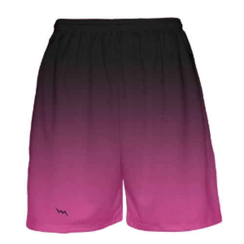 Black+to+Pink+Fade+Basketball+Shorts