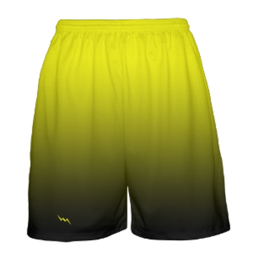 Yellow+to+Black+Fade+Basketball+Shorts