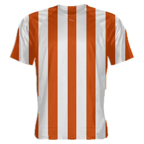Orange+and+White+Striped+Soccer+Jerseys
