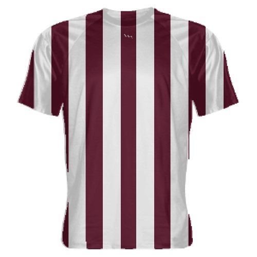 Maroon+and+White+Soccer+Jerseys