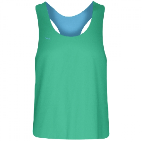 Girls+Racerback+Pinnie+Teal