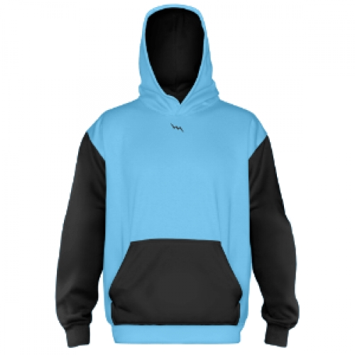 Custom+Hooded+Sweatshirts+Powder+Blue