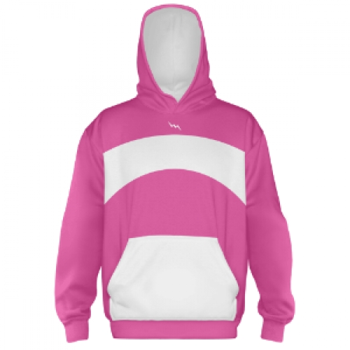 Hot+Pink+Hooded+Sweatshirt