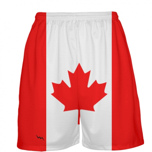 Canada+Flag+Basketball+Shorts
