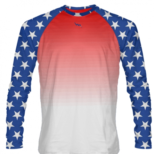 American+Flag+Long+Sleeve+Shirt