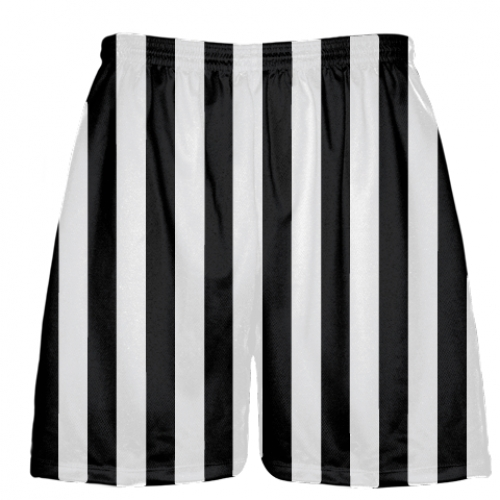 Black+and+White+Striped+Lacrosse+Shorts