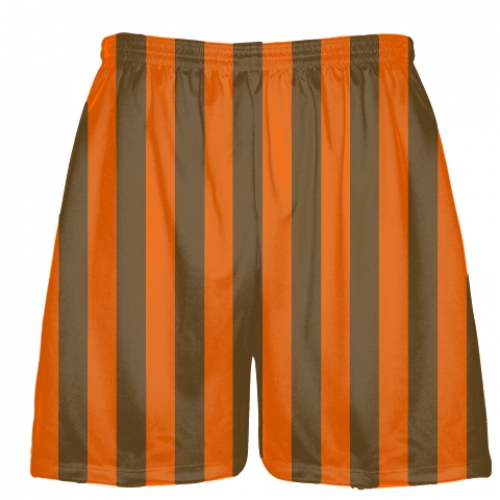 Brown+and+Orange+Lacrosse+Shorts